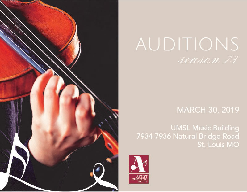 2018 Musician Auditions