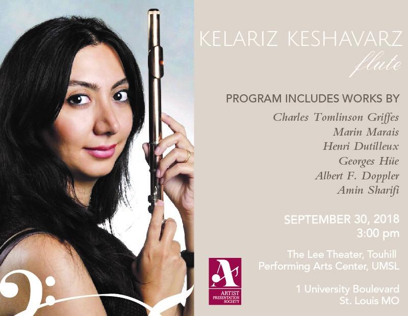 APS winner Kelariz Keshavarz
